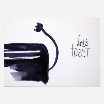 Albie Designs: Let's Toast B