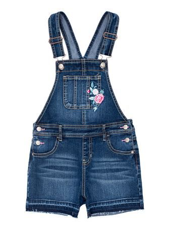 George Girls Denim Shortall Dark Enzyme 16 Baby Girl Pants Childrens Fashion Trends Girls Denim