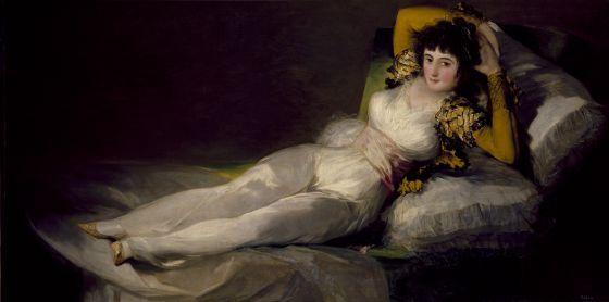 'La maja vestida' (1800-1807), de Francisco de Goya. / MUSEO DEL PRADO