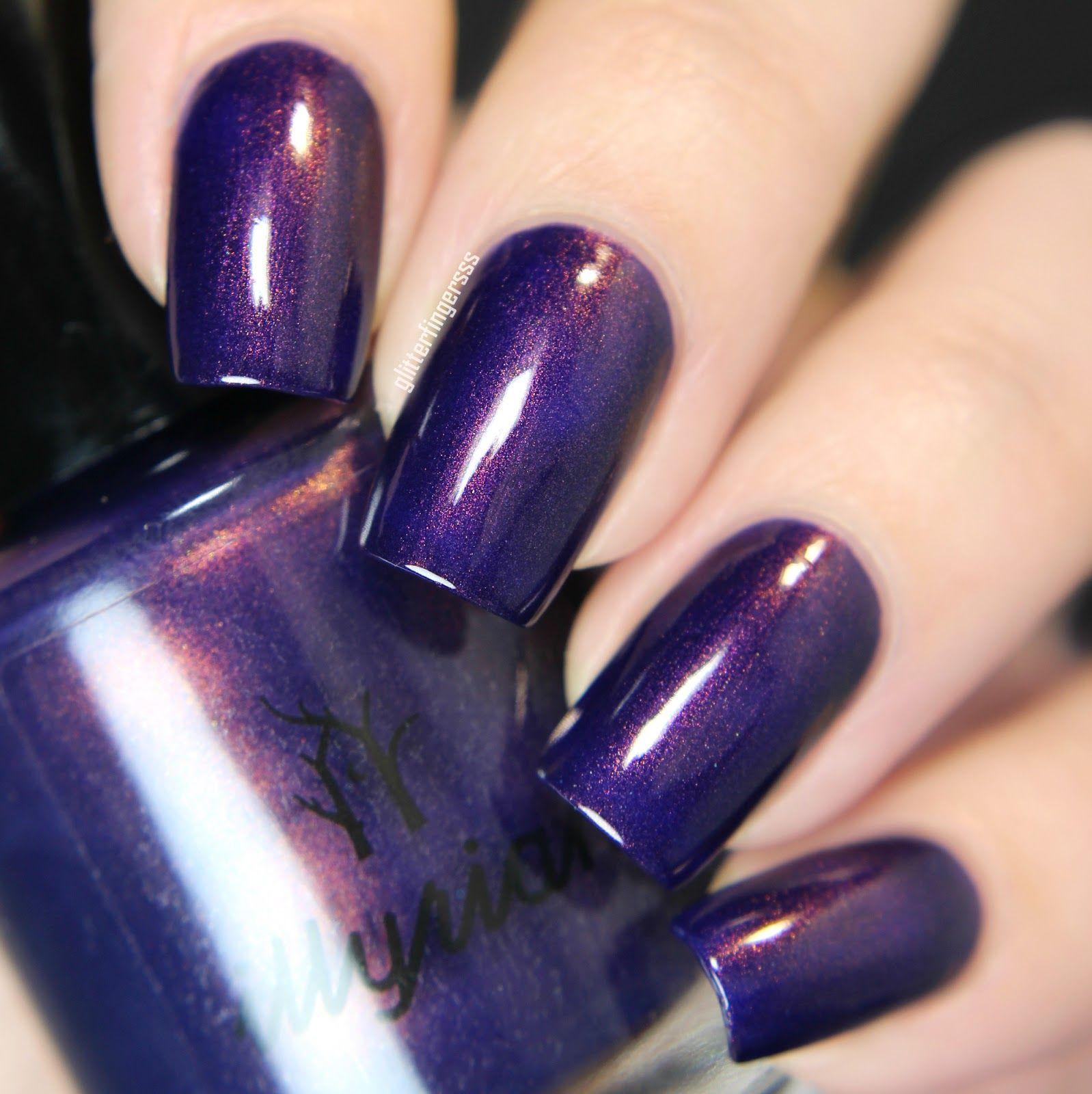 Illyrian Polish Darkness | magic at her fingertips | Pinterest ...