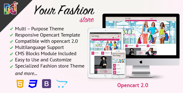 Pin by ProGiftCode on Free OpenCart Theme | Templates, Free