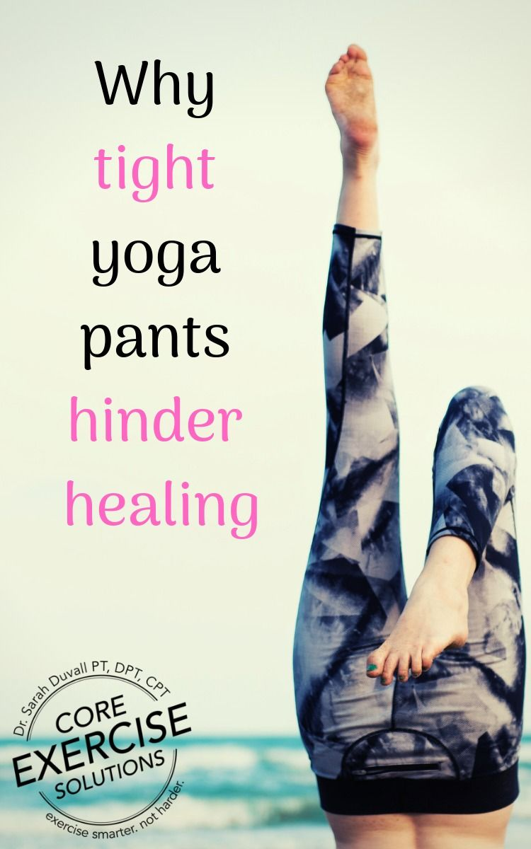 Tightest Yoga Pants in All the Land Pelvic floor