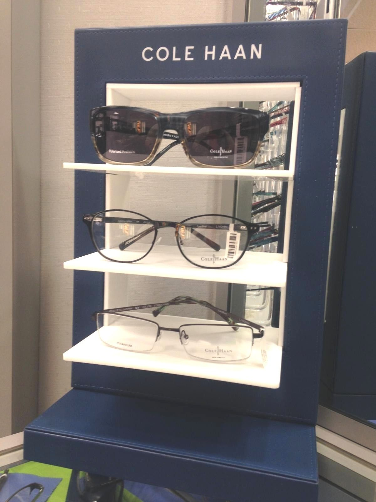 Cole Haan is now at Rinkov Eyecare\'s Nationwide Plaza location in ...