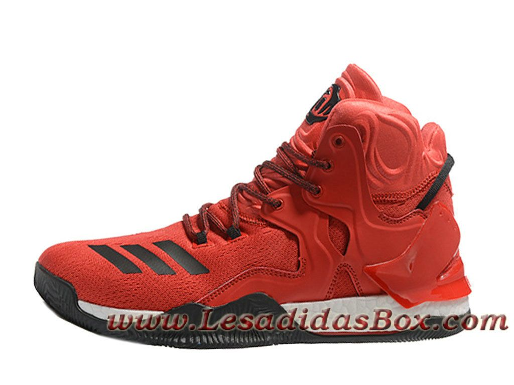 huge selection of ff916 9af99 Adidas Homme Basketball Chaussure D Rose 7 Rouge Adidas Prix CouleurRouge Blanc