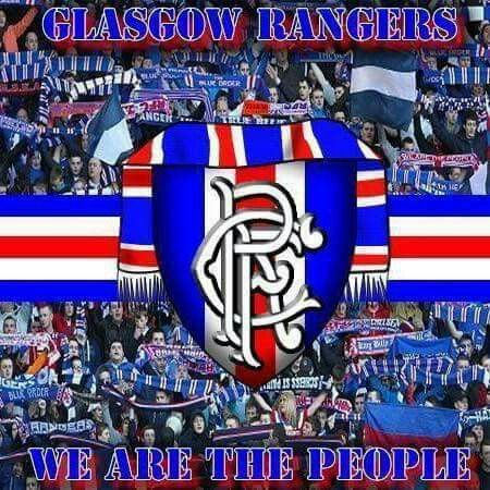 Image result for glasgow rangers banners images""