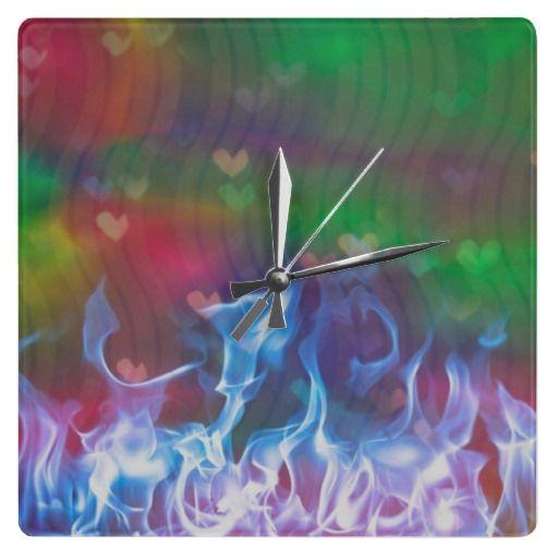 Burning Love Clock #want