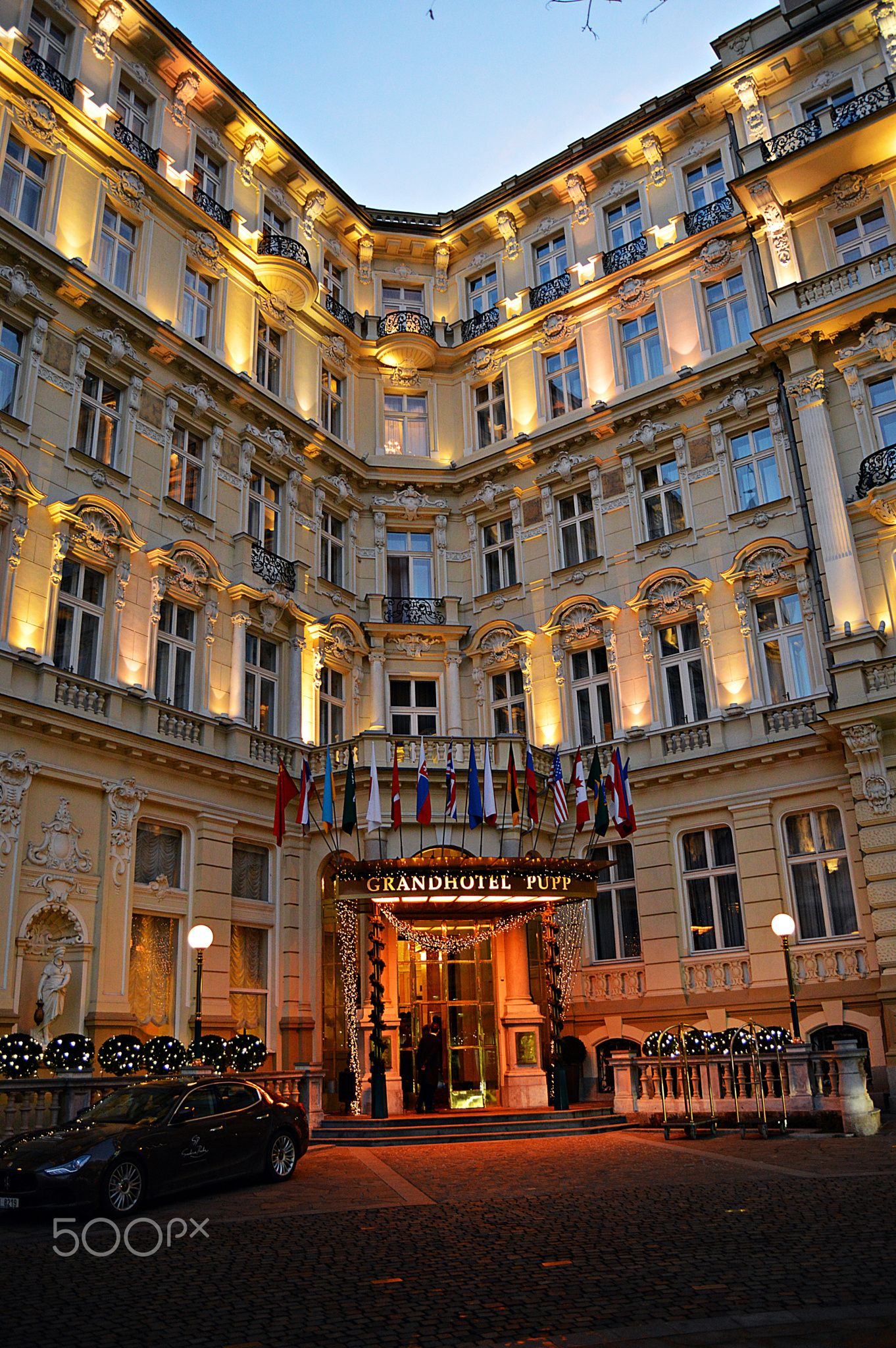 Grand Hotel Pupp Grand Hotel Hotel Places To Travel