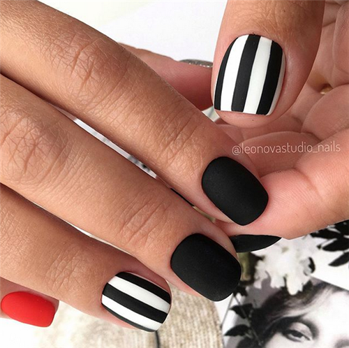 Impressive Acrylic Short Nails Designs In Summer – Nail Art Connect
