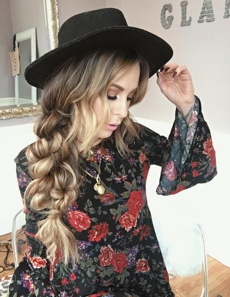 Boho Hairstyles: Boho Twist Braid