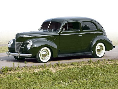 1940 Ford Tudor Sedan 1940 Ford Ford Classic Cars Sedan