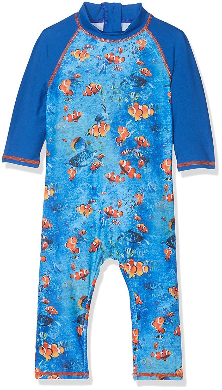 9d7b5d9e94d85 Mothercare Baby Boys' Mb Swimwear Aqaurium Sunsafe Swimsuit | Boys ...