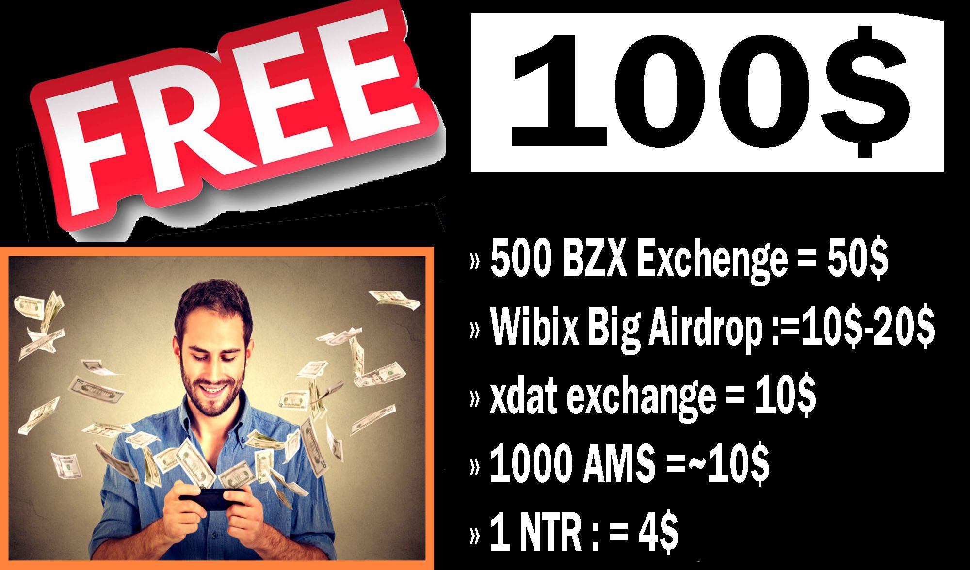 free 100 Just signup in this exchange Free