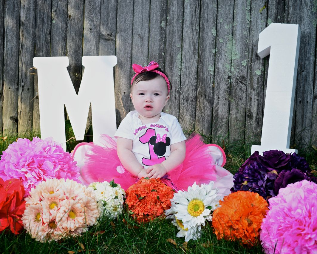 Baby Girl 1st birthday photo shoot Baby girl 1st