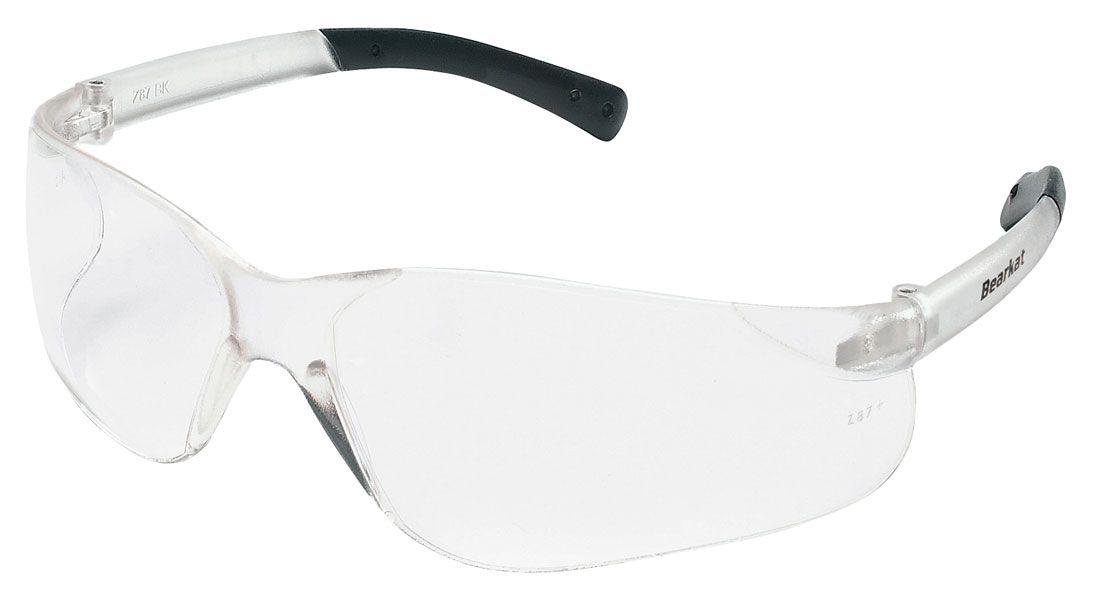 Bk110af bearkat clear safety glasses antifog lens 12