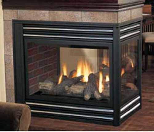 Two Sided Electric Fireplace Bf392sd 39 Inch 2 Sided Built