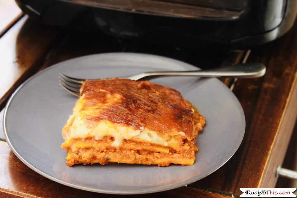 Air Fryer Frozen Lasagna Recipe This Receita