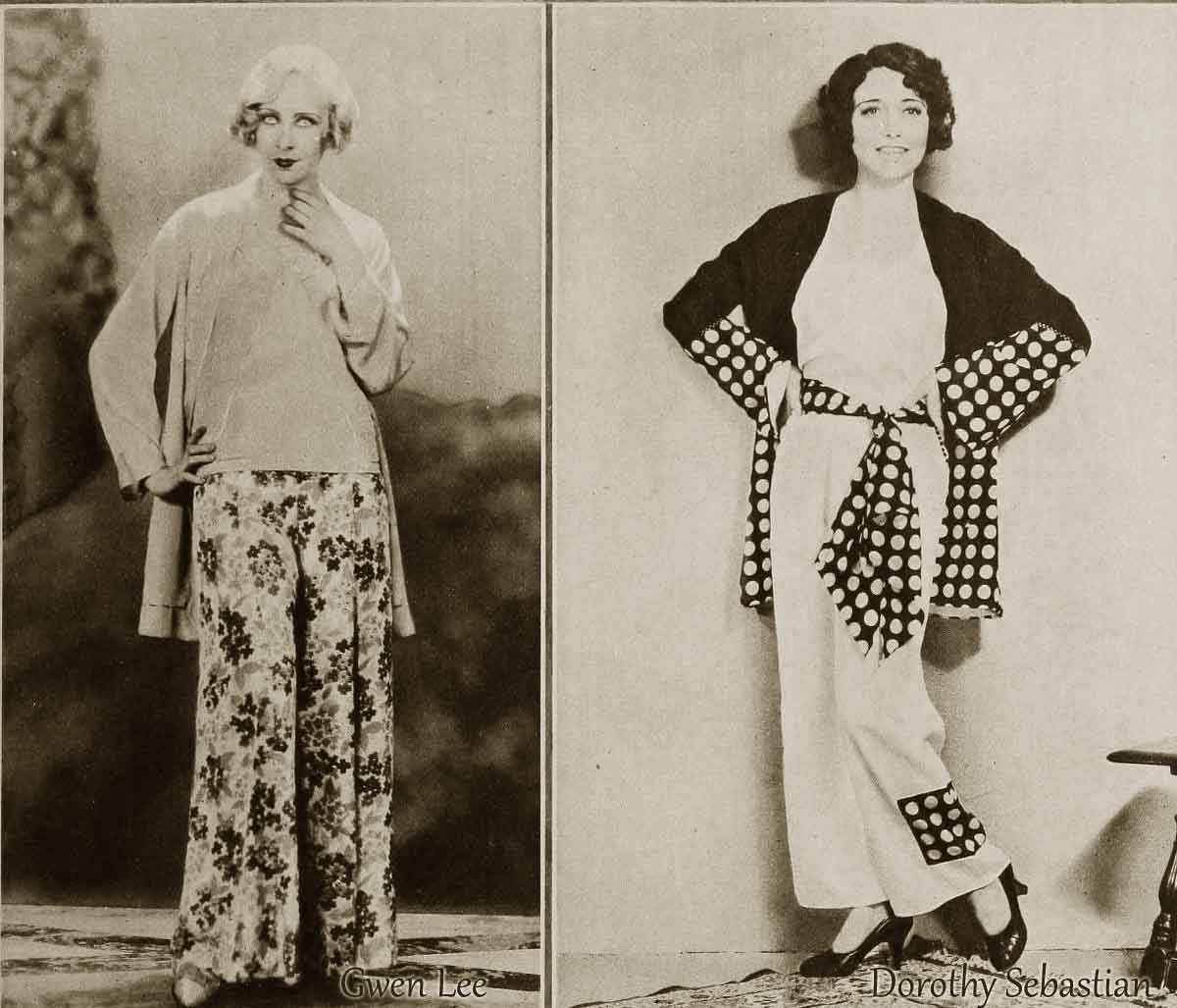 1930s-Fashion---Pyjama-Belles-in-November-1930 | Fashion: 1930s ...