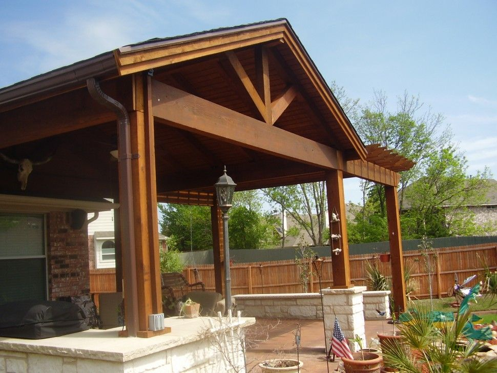 With Roof Patio Cover Backyard Ideas Pinterest Patio roof