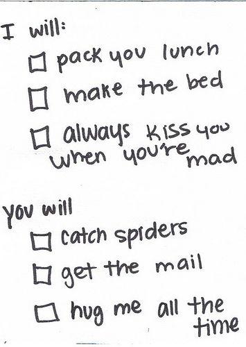 i will, you will - checklist