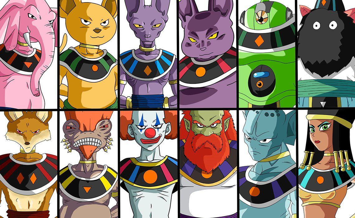 Top 11 Fases De Goku 1 2 3 4 5 6 7 8 9 10: The 12's Gods Of Destruction By