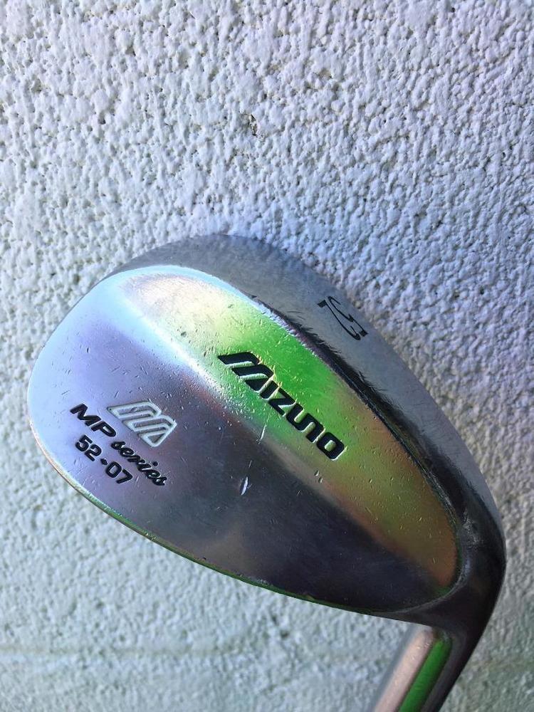 d6d47a1ae06d Mizuno MP Series 52* Gap Wedge 52-07 w/ Steel Dynamic Gold~WEDGE FLEX~GOOD  COND #Mizuno #golfinggapwedge #golfingPitchingwedge