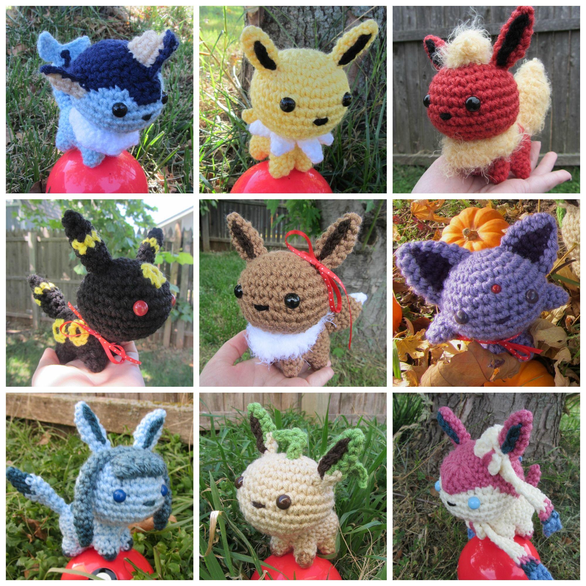 Chibi Pokedex Project by Savannah Mitchell | Pokemon Crochet ...