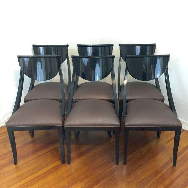 Pietro Costantini Dining Chairs Set Of 6 Dining Chairs