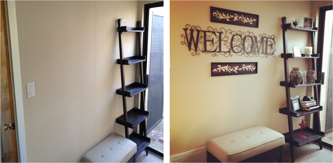 My very own DIY Foyer project. How did I do?