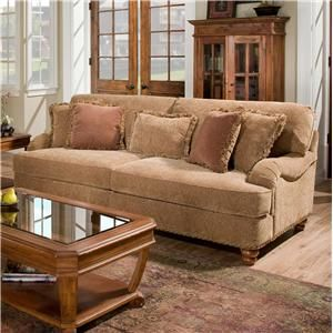 8000 Southern Harvest Sofa By Corinthian   Great American Home Store   Sofa  Memphis, TN