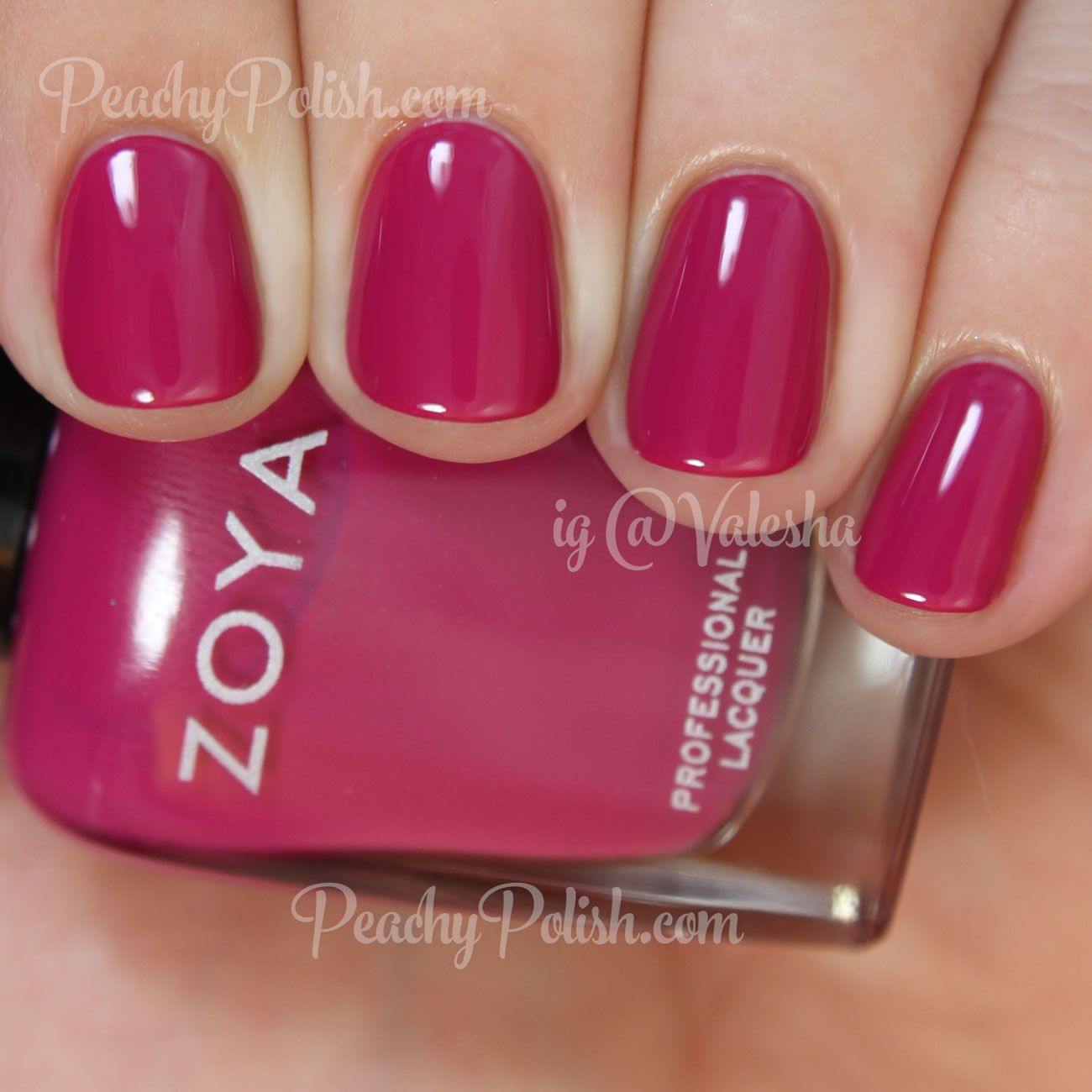 "Zoya: Summer 2015 Island Fun Collection - ""Nana"" is a lush deep ..."