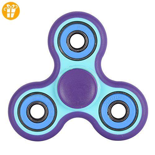 Handfly ABS Tri Hand Spinner Lila Kreislager - Fidget spinner (*Partner-Link)