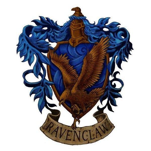 Harry potter hogwarts crest ravenclaw liked on polyvore - Gryffindor crest high resolution ...
