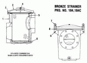 Pentair Pool And Spa Pumps And Parts Sta Rite Cover Trap Pkg184 16401 0210 Spa Pool Spa Pool