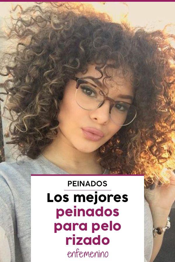40 Ideas De Peinados Para Media Melena Rizadas Peinados Curly