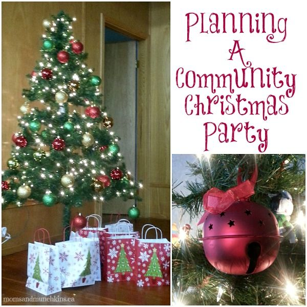 Community Christmas Party Planning Tips Moms Munchkins Christmas Party Planning Christmas Party Holiday Party Themes