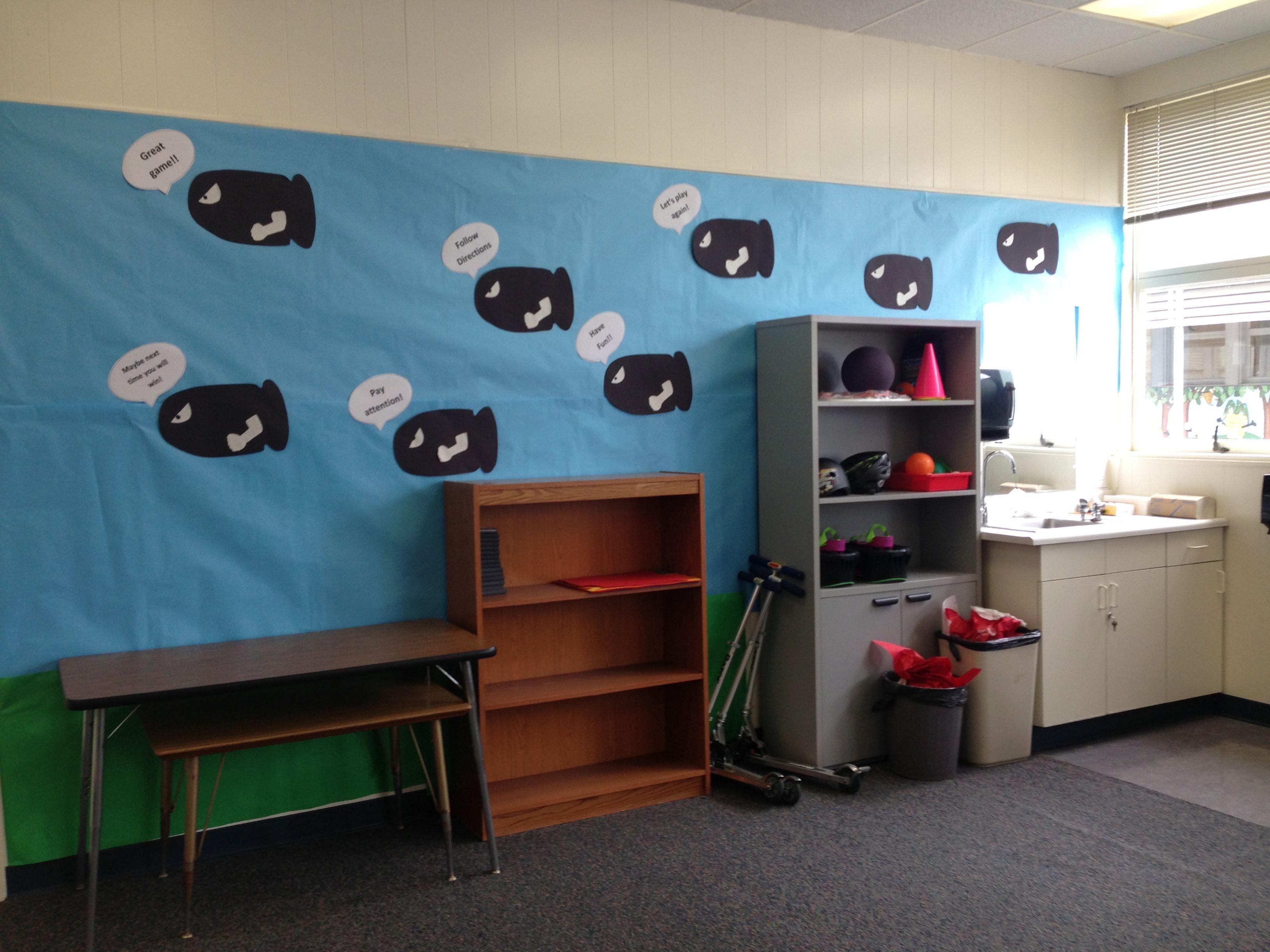School Classroom Decor Games : Mario bros classroom theme