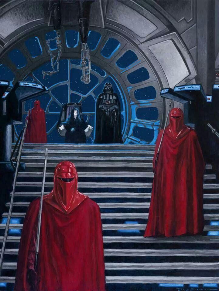 The Emperor S Throne Room Star Wars Star Wars Star