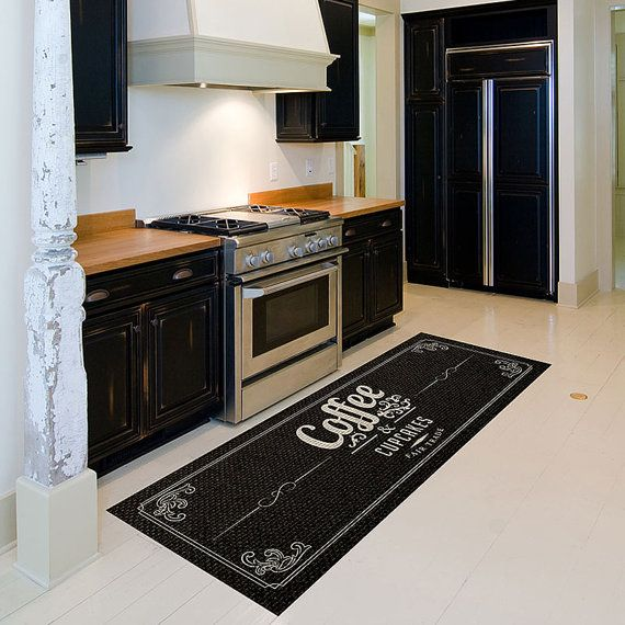 Coffee Runner Rug Coffe Bath Mat Floor Mat for by ...