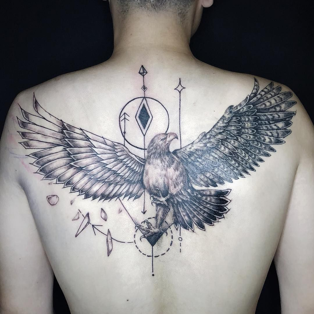 Amazing Perfectly Place Eagle Tattoos Designs For Beautiful Body
