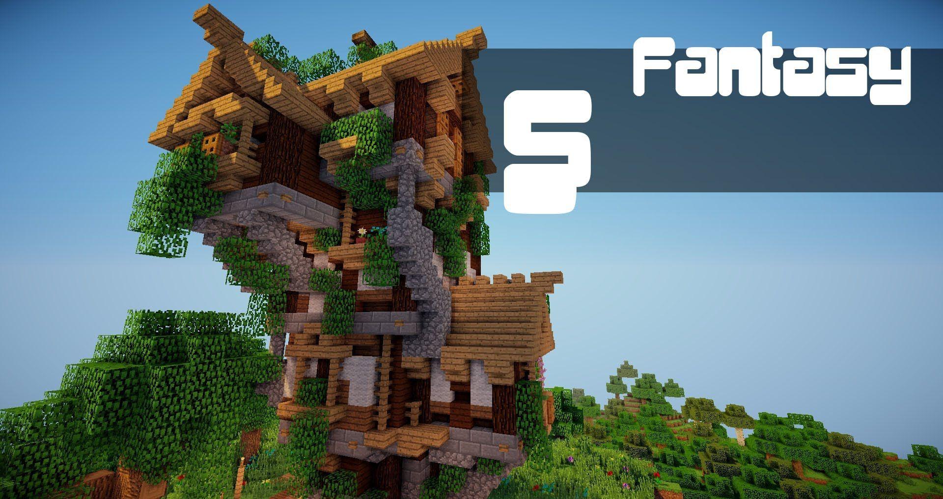 Fantasy house time lapse  Fantasy house, Minecraft tutorial, Fantasy