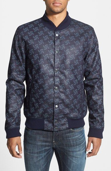 G Star Raw 'RAW for the Oceans' Bomber Jacket   Jackets