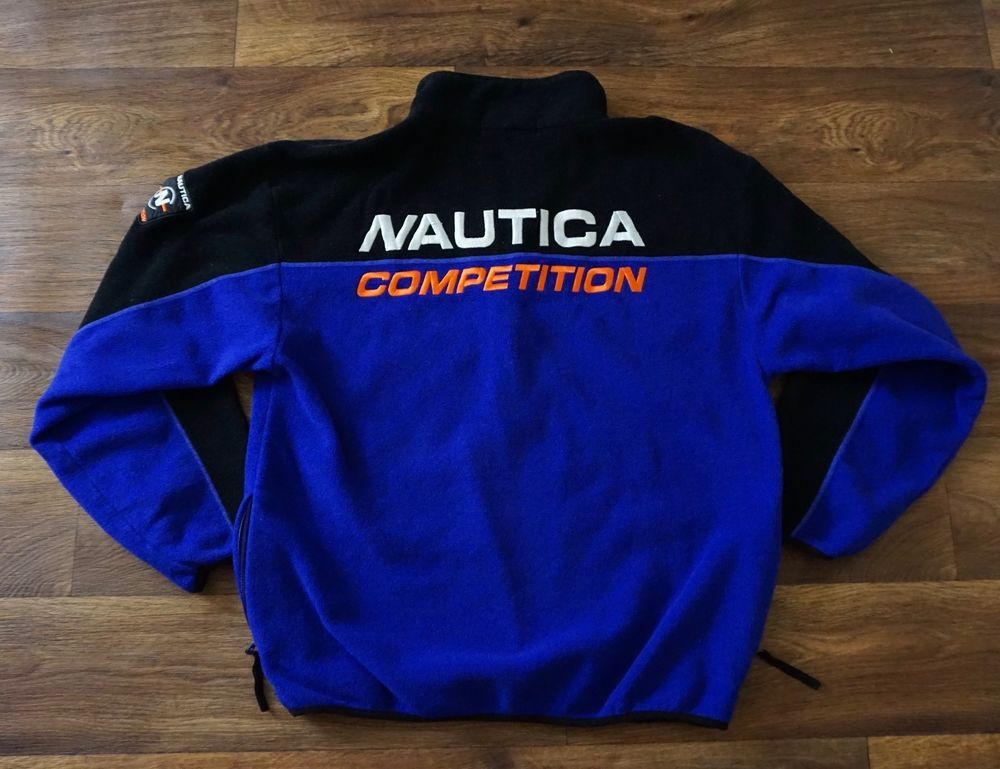 Vintage nautica competition sailing sweater size mens xl rare