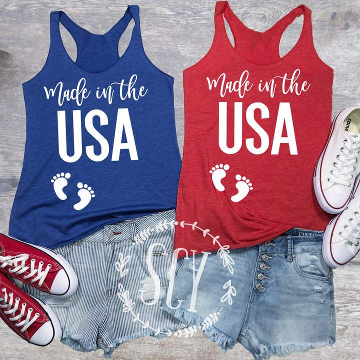 c35c68f9e35bc Etsy 4th of July Pregnancy Tank Top - 4th of July Pregnancy Announcement  Shirt - 4th of July Pregnancy #affiliate