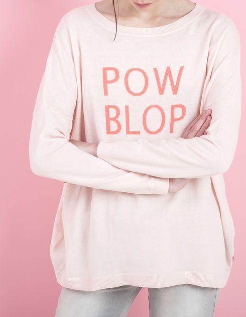 Pull rose pour femme