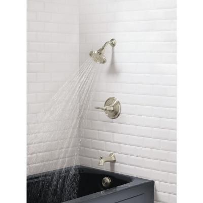 KOHLER Linwood Bath/Shower Faucet in Vibrant Brushed Nickel ...