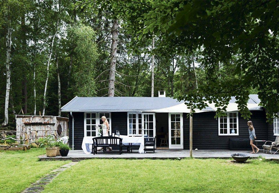 Casas de verano n rdicas para refugiarse del calor extremo - Casas de madera nordicas ...