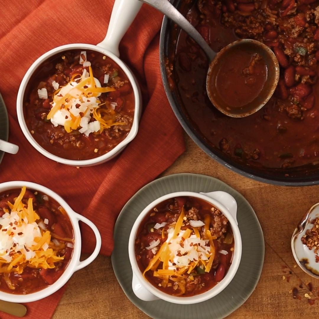 The Best Easy Chili Recipe