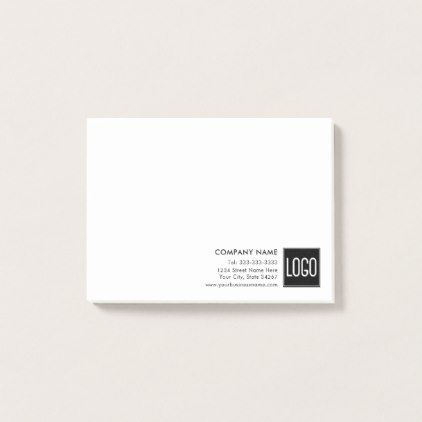 Business promotional upload your own logo post it notes solutioingenieria Gallery