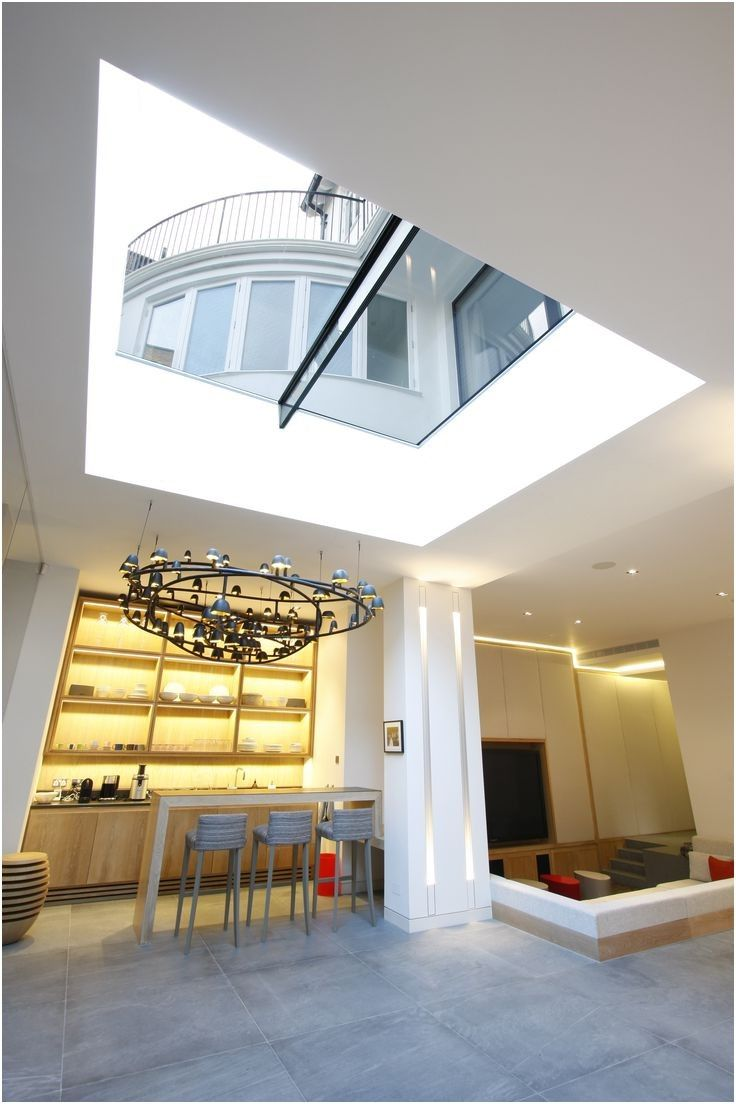 20 Best Rooflights Basements Images On Pinterest From Basement Natural Light