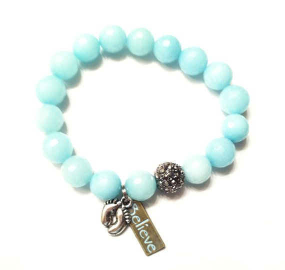 Baby Feet Bracelet New Mother Baby Gift by ExpressionsBracelets, $24.95